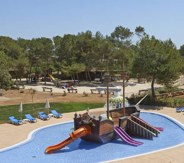 SPLASH POOL Blau Colonia Sant Jordi Resort & Spa Majorque