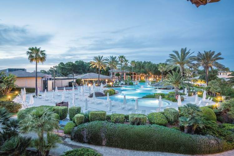 Panoramablick blau colonia sant jordi resort & spa mallorca