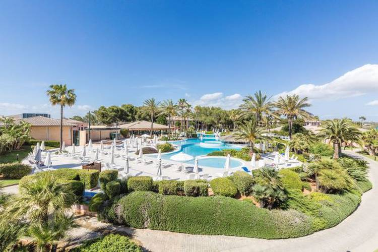 Сад blau colonia sant jordi resort & spa майорка