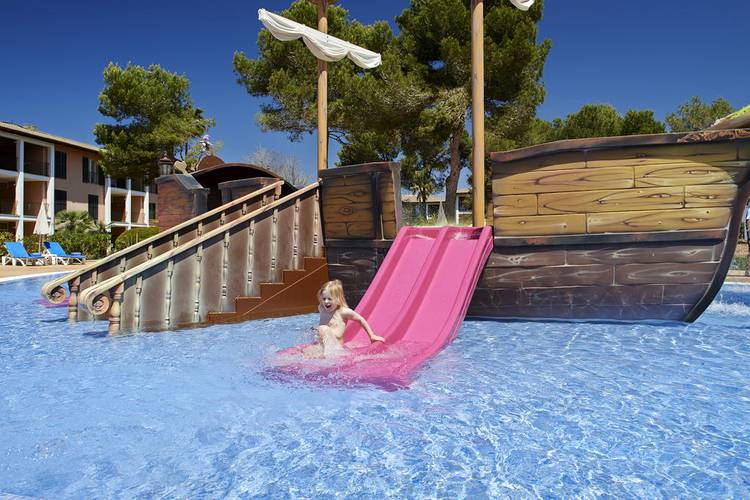 Splash pool blau colonia sant jordi resort & spa mallorca