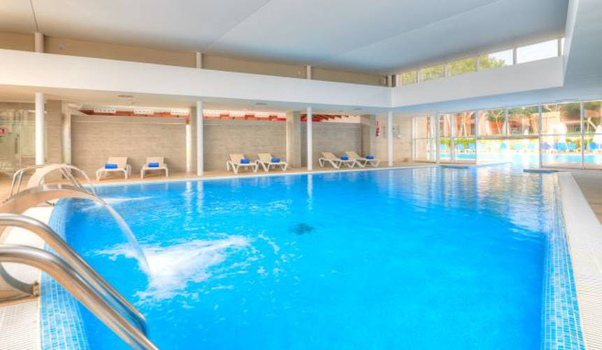 Indoor swimming pool blau colonia sant jordi resort & spa majorca