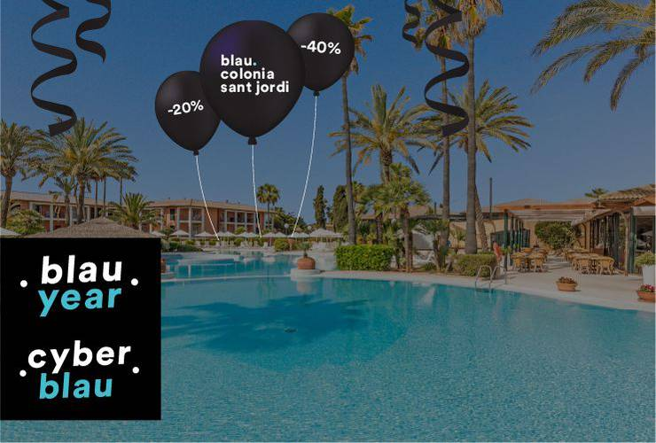 To much of a black year? blau colonia sant jordi resort & spa majorca